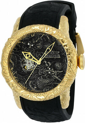 Invicta Men's S1 Rally Automatic 100m Stainless Steel/Black Silicone Watch 25082