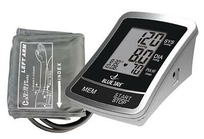 Automatic Blood Pressure Monitor w/4 AA Blue Jay Brand BJ120100 Free Shipping