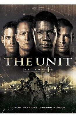 THE UNIT - SEASON 1 (DVD, 2006, 4-DISC SET) BRAND NEW SEALED!! Ships FREE