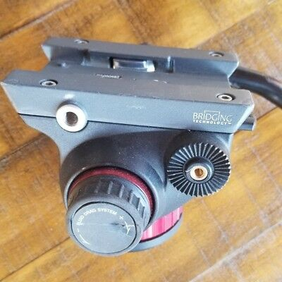 Manfrotto 502 MVH502AH Pro Fluid Video Head (missing plate and needs new lock)