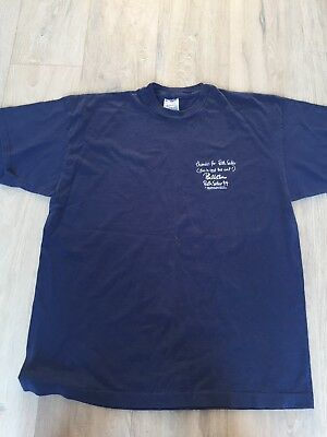 Phil Collins Original 1994 Both Sides Tour T Shirt GENESIS