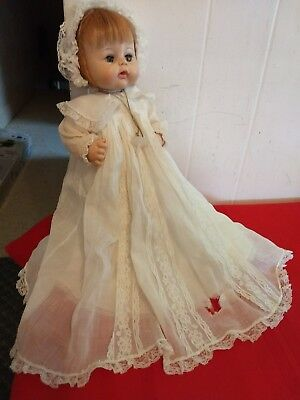 Madame Alexander Sweet as Tears Doll original Christening dress 1965 /pacifier
