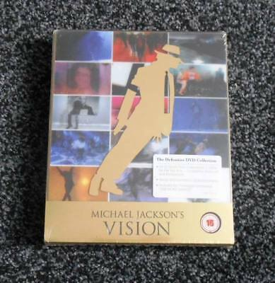 Michael Jackson's Vision 3 x DVD Collection - Still Sealed