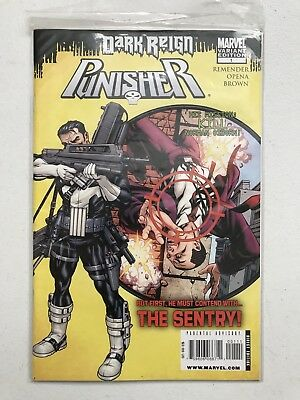 Punisher Dark Reign Comic #1! Variant Edition! Sentry! Marvel!