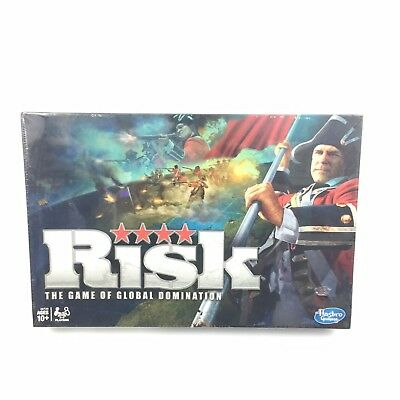 RISK Board Game Hasbro The Game of Global Domination 2010 NEW SEALED #4069