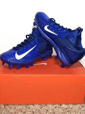 huge selection of 38b4d fc959 Nike Max Air Mike Trout 3 Pro Metal Baseball Cleats Blue White Boy s  Size  3.5