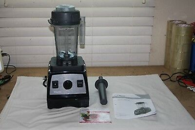 Vitamix Creations Elite Emulsion Blender VM0158 With Container Manual DVD Pusher