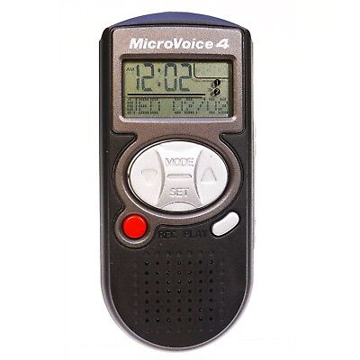 Micro Voice 4  Pocket Message Recorder Memo Countdown Stopwatch Alarm Dictaphone