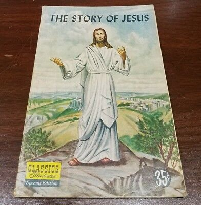 CLASSICS ILLUSTRATED 1st Edition STORY OF JESUS special 1955 cgc it golden age