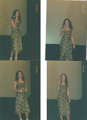 LOT OF 4 DANIELLE CORMACK 2003 CONVENTION PHOTOS EPHINY XENA (lot A)