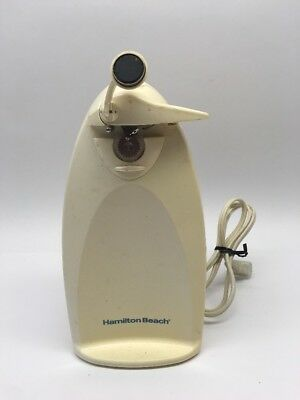 """Vintage Hamilton Beach 76375 CleanCut Extra-Tall 9"""" Can Opener RARE"""