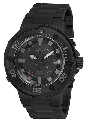 Invicta Men's 26202 'Star Wars' Darth Vader Automatic Black Steel Watch