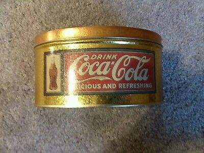Vintage Style Drink Coca-Cola Tin Container 1993 (Brand New Old Stock)