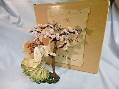 Boyds Charming Angels Collection Florimel.. Guardian Of Spring Edition #1 / #11