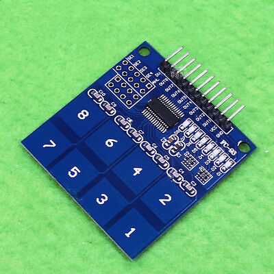 2pcs New TTP226 8-channel capacitive touch switch digital touch sensor