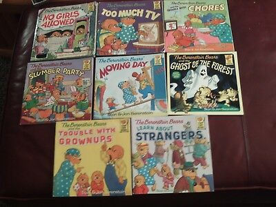 Berenstain Bears Softcover 8 Book Lot