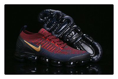 2018 Nike Air Vapormax Flyknit Men's - Running Movement Fitness City Trai RED