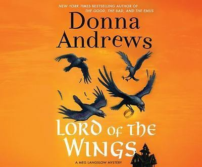 Lord of the Wings by Donna Andrews (2015, Unabridged) 8 CDs