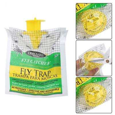 New Disposable Fly Trap Catcher Fly Catcher Insect Trap Hanging Pest Control.