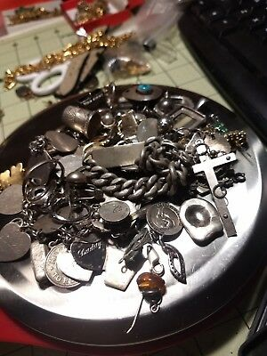 313g of solid  Sterling Silver scrap All Marked And Tested