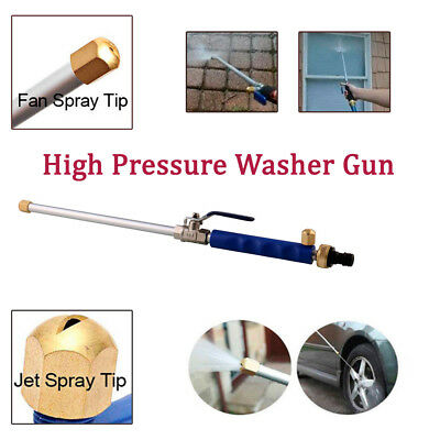 Auto Home High Pressure Washer Jet Power Spray Nozzle Water Hose Wand Attachment