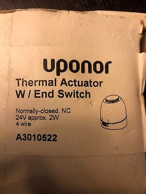Uponor (Wirsbo) Thermal Actuator, Four-Wire