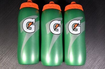 Gatorade 20 oz. Squeeze Water Bottle - 3 Bottles - All Sport Water Bottles