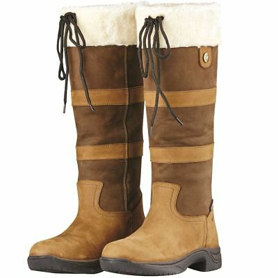 a7bd71f396a DUBLIN CLYDE WATERPROOF Leather Country Boots with Memory Foam ...