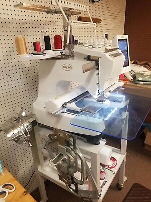 Brother Entrepreneur Pr620 6 Needle Embroidery Machine With Stand