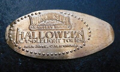 San Jose,Ca. - Winchester Mystery House Candlelight Tours Copper Elongated Penny