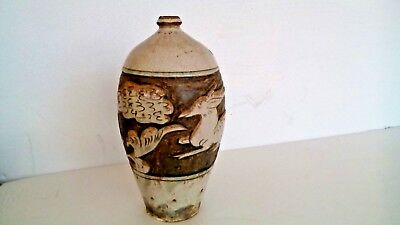 VERY RARE ASIAN CHINESE ANTIQUE SONG DYNASTY 10-11th C POTTERY VASE