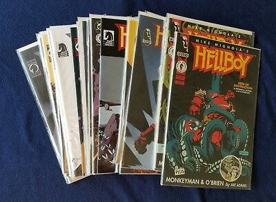 Hellboy : 22 Comic Lot : Seed of Destruction, Box Full of Evil, Conqueror Worm