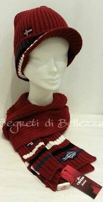 Sciarpa + Cappello Charro Junior Color Bordeaux