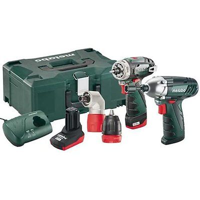Metabo Combo Set 2.1 10.8 Volt PowerMaxx BS Quick Driver & SSD Impact Driver Kit