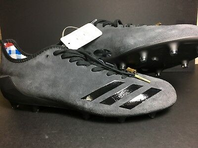 67ef36bd493 Adidas Adizero 5-Star 6.0 Sunday s Best Football Cleats BW0377 Size 11.5  Black
