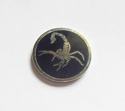 1 only SCORPION  GOLF BALL MARKER approx 23mm