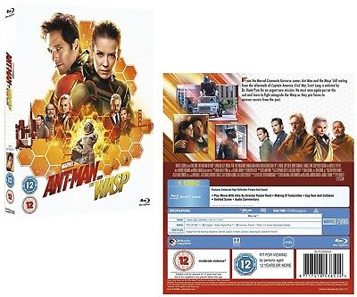 ANT-MAN (2018 - 2) AND THE WASP: MARVEL, Action - NEW  Region FREE 2D  BLU-RAY