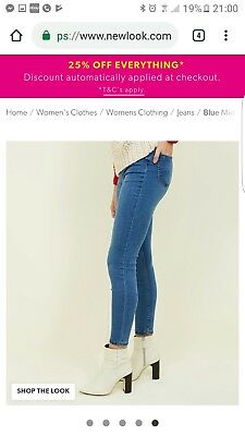 Nwt New Look Emilee Jegging Size 18 Look At My Items