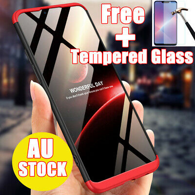 3in1 Protect Shockproof Cover Hybrid Heavy Duty Armor Case For Oppo A5 AX5 A3s