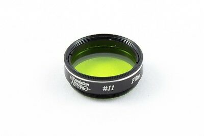"Revelation Astro #11 Yellow/Green 1.25"" Filter For Telescope Eyepiece"