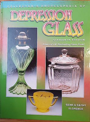Depression Glass=Collectors Encyclopedia, Sixteenth Edition