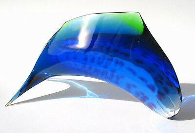 Exbor glassworks  Fisch,   Czech Glass Design
