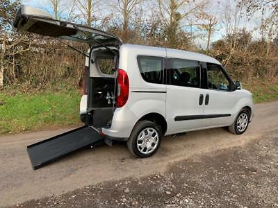 2015 Fiat Doblo 1.6 Multijet 90 Easy 5dr AUTOMATIC WHEELCHAIR ACCESSIBLE VEHI...