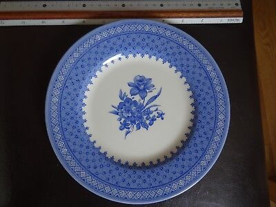 Churchill 'out Of The Blue' Flower Plate