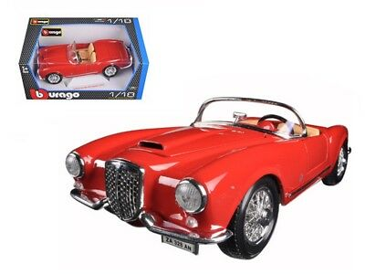 1955 Lancia Aurelia B24 Spyder Red 1/18 Diecast Model Car by Bburago