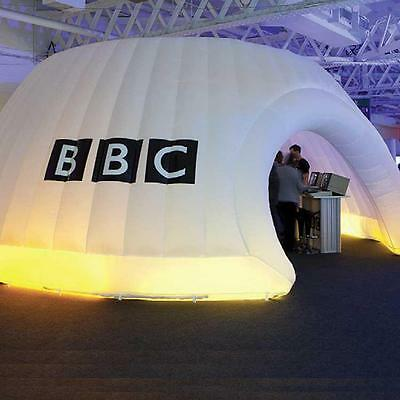 Inflatable  Disco Igloo Tent, as seen on Dragons Den. Great for Parties outdoors