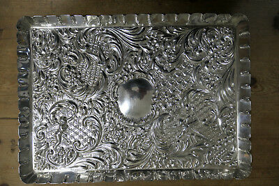 Sterling Silver Dressing Table Tray Goldsmiths and Silversmiths London 1915