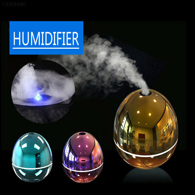 9DE6 Ultrasonic Humidifier USB Egg Shape Essential Oil Aromatherapy Humidifier