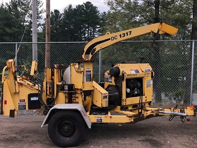 "2011 Altec 1317 Towable Wood Chipper 13"" Capacity w/ Kubota Diesel Engine"