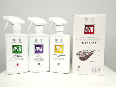 Autoglym Interior Collection Kit Auto Glym Car Van Care Cleaning Box Set
